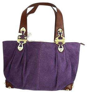 Michael Kors Satchel in Indigo ( Purple )