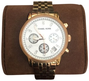 10779c35a14a Pink Michael Kors Watches - Up to 70% off at Tradesy