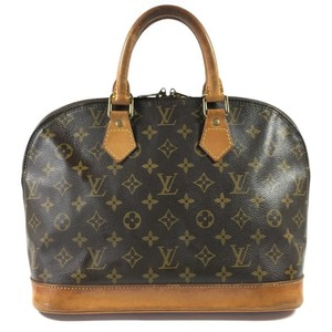 Louis Vuitton Alma Handbag Vintage Satchel in Louis Vuitton Monogram