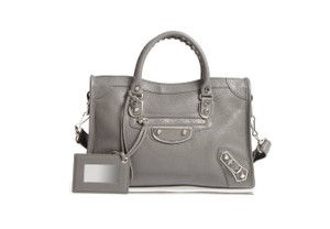 Balenciaga Classic Metallic Edge City Small Tote Shoulder Bag
