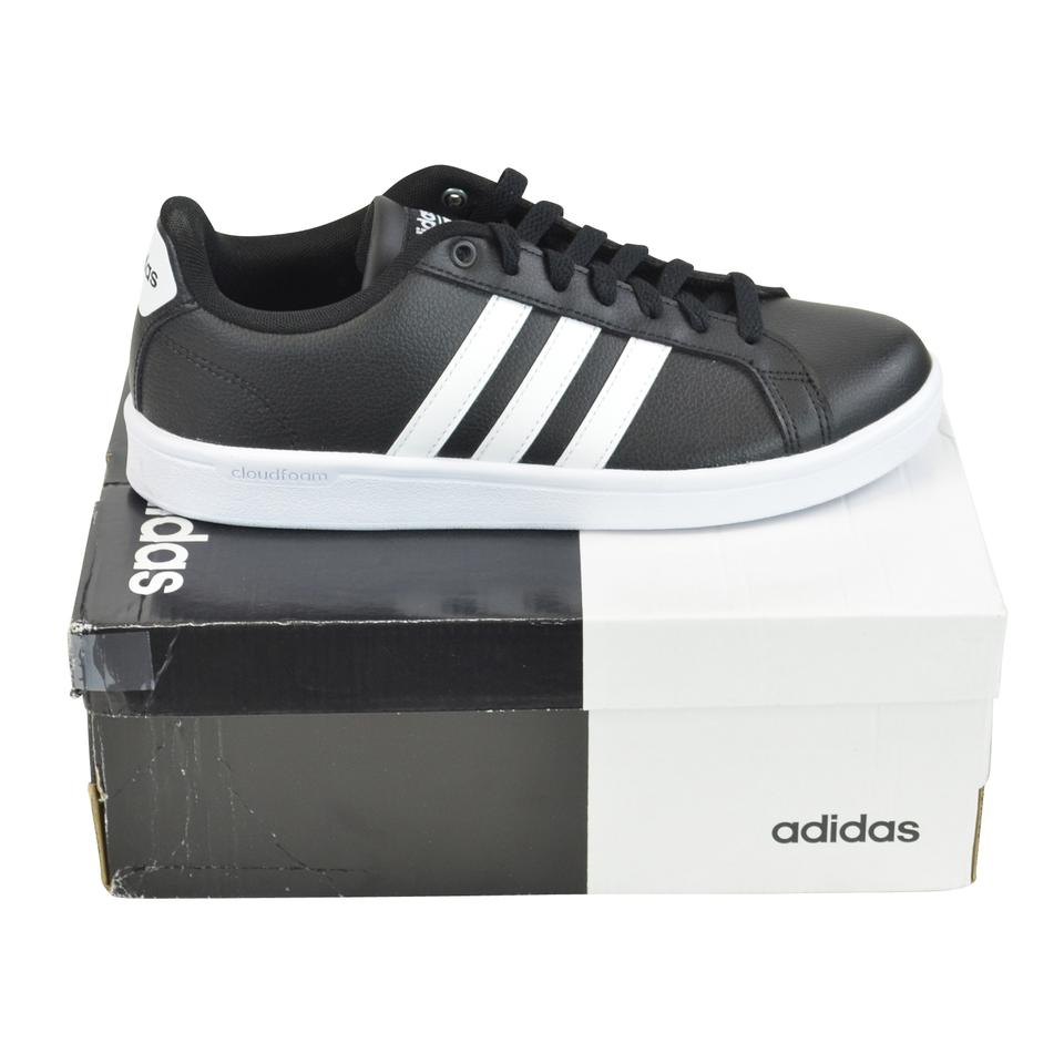 a7d3c88a76a8ab adidas Black Cf Advantage Leather Tennis Sneakers Sneakers Size US 8 ...