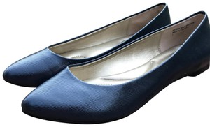 Kelly & Katie Navy Flats