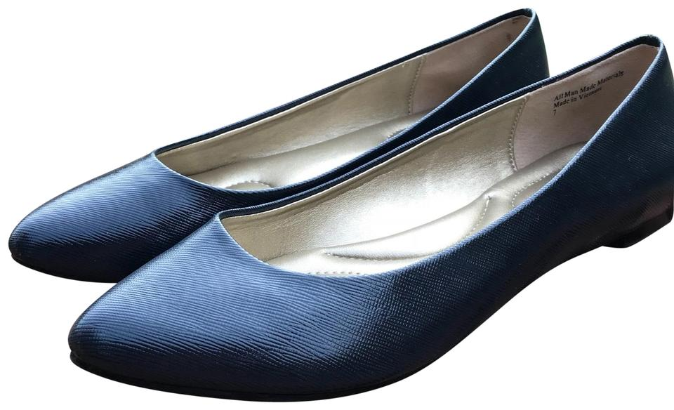 287cf47dd948 Kelly & Katie Navy Pirassa Flats Size US 7 Regular (M, B) - Tradesy