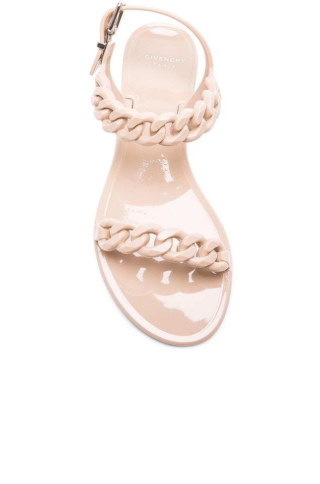 2a75f1b41b0a Givenchy Nude Pink Chain Jelly Sandals Size EU 36 (Approx. US 6 ...