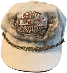 Harley Davidson HD Newspaper Boy Style one size hat