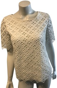 Catherine Malandrino Tunic Lace Tory Burch Joie Vince Top white