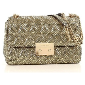 Michael Kors Metallic Hardware Shoulder Bag