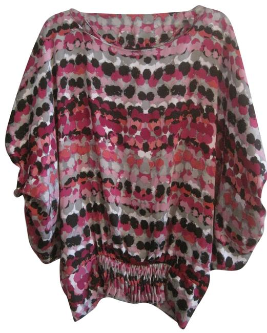 Grace Elements Multi Color Blouse Size 14 (L) Grace Elements Multi Color Blouse Size 14 (L) Image 1
