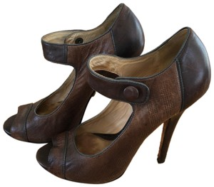 L.A.M.B. Brown Pumps