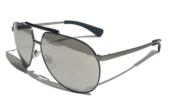d946ce509b56 dolce gabbana silver black mirrored lens new aviator dg 2152 1108 6g free 3  day ship.