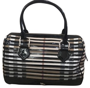Burberry Satchel in Black, Check