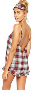 Wildfox Plaid Intimates Sexy Dress