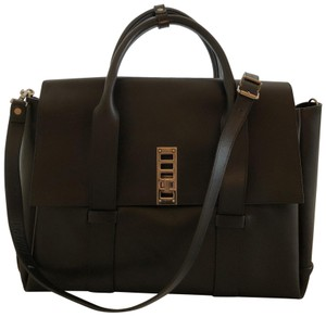 Proenza Schouler Laptop Ps2 Carryon Travel Satchel in Black