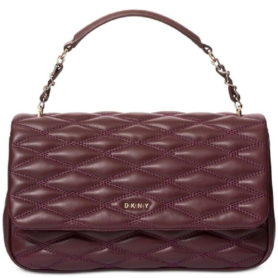 c86e31f6d DKNY Fall Leather Quilted Shoulder Bag Image 0 ...