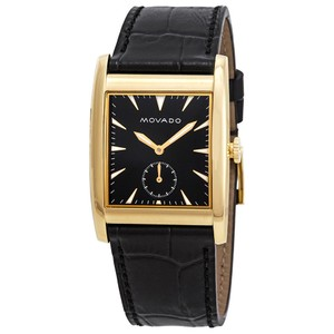 Movado Heritage Men's Leather Watch