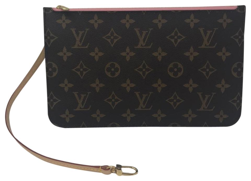 bf5a94d70619 Louis Vuitton Neverfull Pouch Clutch - Tradesy