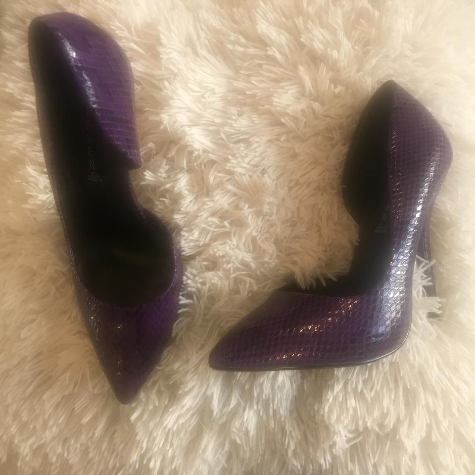 a2b0dbb32af Steven by Steve Madden Purple Newbee Pumps Size US 7.5 Regular (M