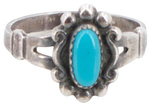 Bell Vintage Bell Sterling Silver Turquoise Ring