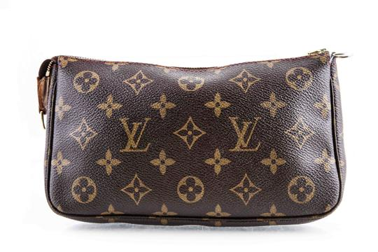 Louis Vuitton Leather Cherries Wristlet in Brown Image 2