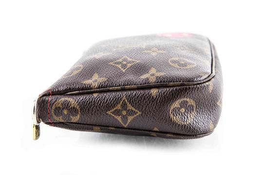 Louis Vuitton Leather Cherries Wristlet in Brown Image 3