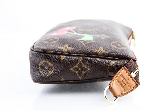 Louis Vuitton Leather Cherries Wristlet in Brown Image 4