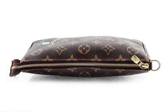Louis Vuitton Leather Cherries Wristlet in Brown Image 6