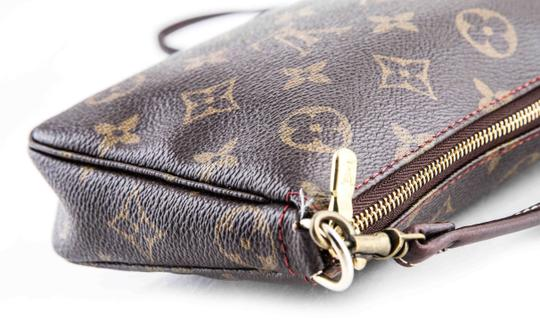Louis Vuitton Leather Cherries Wristlet in Brown Image 7