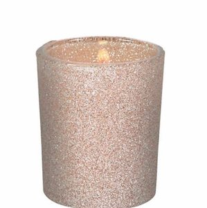 Gold Glitter Votive/Candle