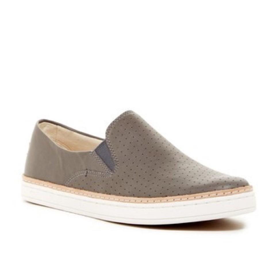 c67b17e11c2 UGG Australia Grey Keile Uggpure(Tm) Lined Perforated Slip-on Sneaker  Sneakers Size US 6.5 Regular (M, B) 58% off retail