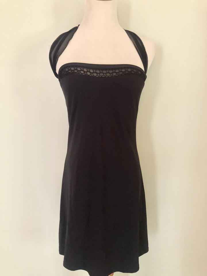 cac23ce44a SHAN Black Swimsuit Summer Dress Cover-up/Sarong Size 8 (M) - Tradesy