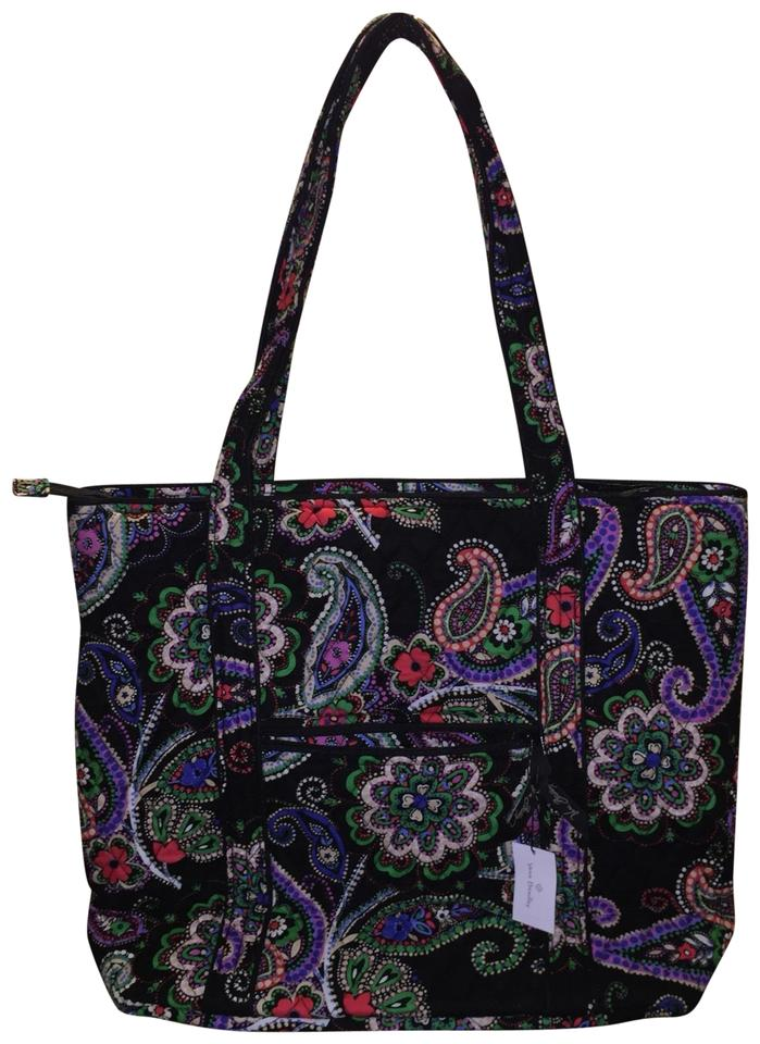 Vera Bradley Large In Kiev Paisley Multicolor Cotton Tote - Tradesy f4926832642ea