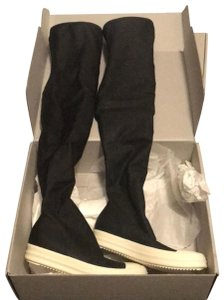 Rick Owens black and white Boots