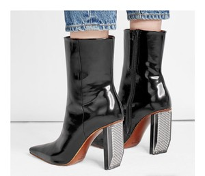 Vetements 100mm New Black Boots