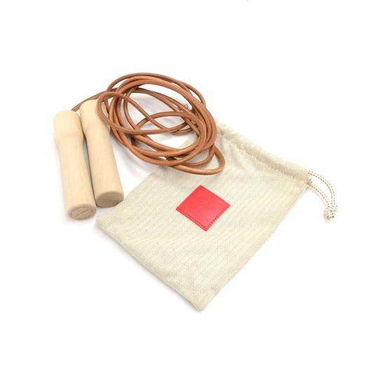 Preload https://img-static.tradesy.com/item/23972034/hermes-brown-wood-and-leather-jump-rope-2013-limited-and-rare-item-0-0-540-540.jpg
