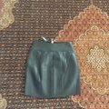 Express Black (Minus The) Leather O-ring A-line Skirt Size 0 (XS, 25) Express Black (Minus The) Leather O-ring A-line Skirt Size 0 (XS, 25) Image 7