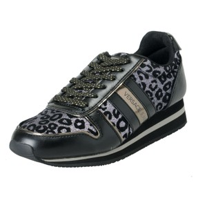 Versace Jeans Collection Black Flats