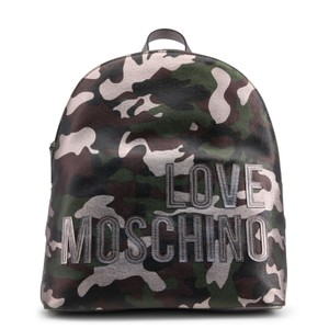 Love Moschino Camouflage Backpack