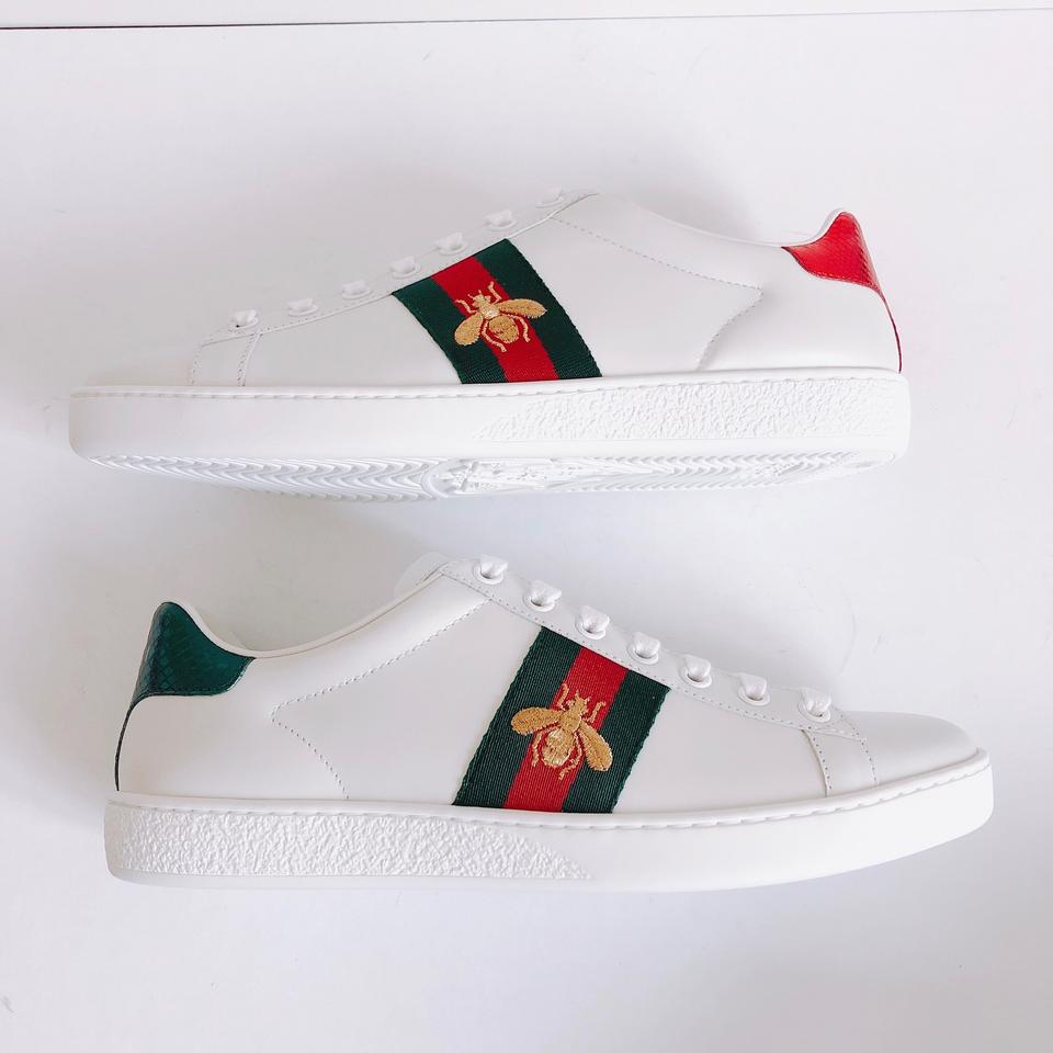 1eb52027f7d Gucci Ace Water Snake Embroidered Leather Sneakers Sneakers Size US ...