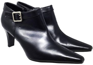 George Plunge Ankle Us 8.5 Side Zip S070918-13 Black Boots