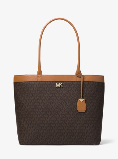 Michael Kors Canvas 30t8gn2t3b Tote in Brown