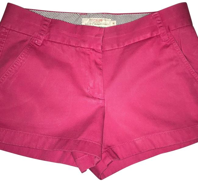 Preload https://item5.tradesy.com/images/jcrew-hot-pink-chino-minishort-shorts-size-4-s-27-23972974-0-1.jpg?width=400&height=650