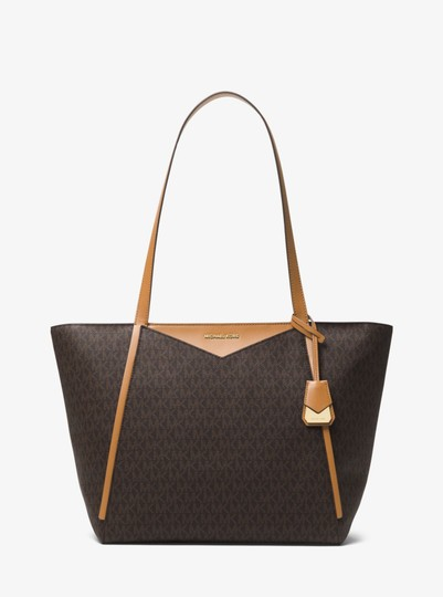 Michael Kors Canvas 30s8gn1t3b Tote in Brown
