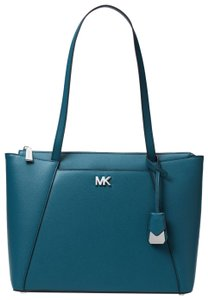 Michael Kors Leather 30s8sn2t2l Tote in Teal