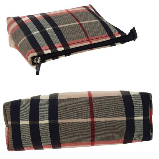 Burberry BURBERRY LONDON Nova Cosmetic Bag Pouch PVC Leather Beige NEW TYPE
