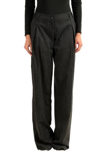 John Galliano Wide Leg Pants Multi-Color