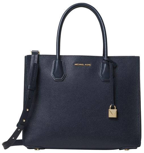 Preload https://img-static.tradesy.com/item/23973081/michael-kors-mercer-large-pebbled-accordion-admiral-leather-tote-0-1-540-540.jpg