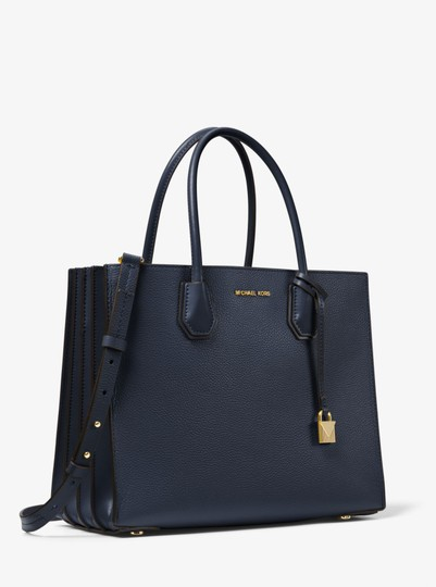 Michael Kors Leather 30f8gm9t3t Tote in Admiral