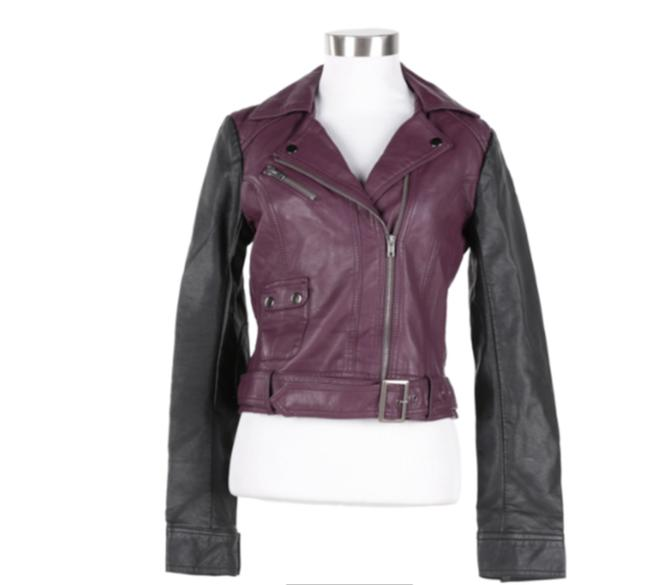Preload https://item5.tradesy.com/images/french-connection-black-leather-jacket-size-4-s-23973099-0-0.jpg?width=400&height=650