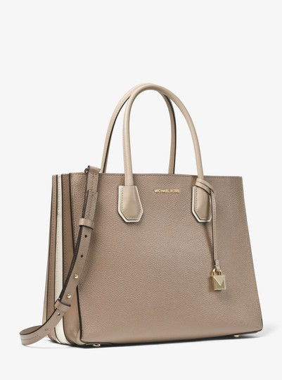 Michael Kors Leather 30t8tm9t3l Tote in Truffle