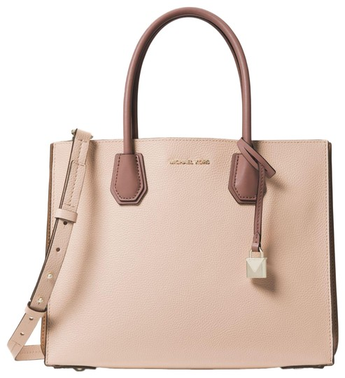 Preload https://item3.tradesy.com/images/michael-kors-mercer-large-pebbled-accordion-soft-pink-leather-tote-23973102-0-1.jpg?width=440&height=440